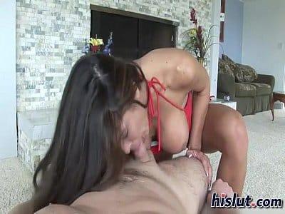 Francine Ferrari fazendo sexo gostoso