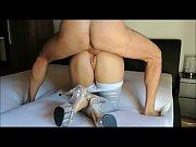 Sexo anal amador com a loira boazuada