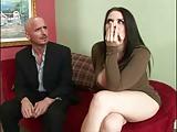 Filme porno com morena peituda da buceta lisinha