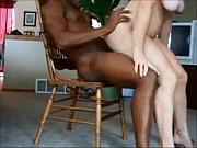 Esposa gostosa sentando na rola do amante negão