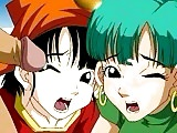 Hentai do Dragon Ball com Pan e Bulma Fudendo