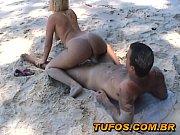 Filme de Sexo Brasileiro com Loira Gostosa Transando na Praia