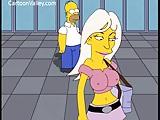 Video porno com Os Simpsons