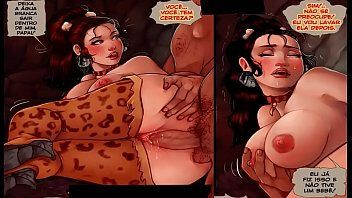 Porno em quadrinho com muita pica na buceta