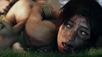 Lara croft hentai sendo fodida pelos inimigos do jogo